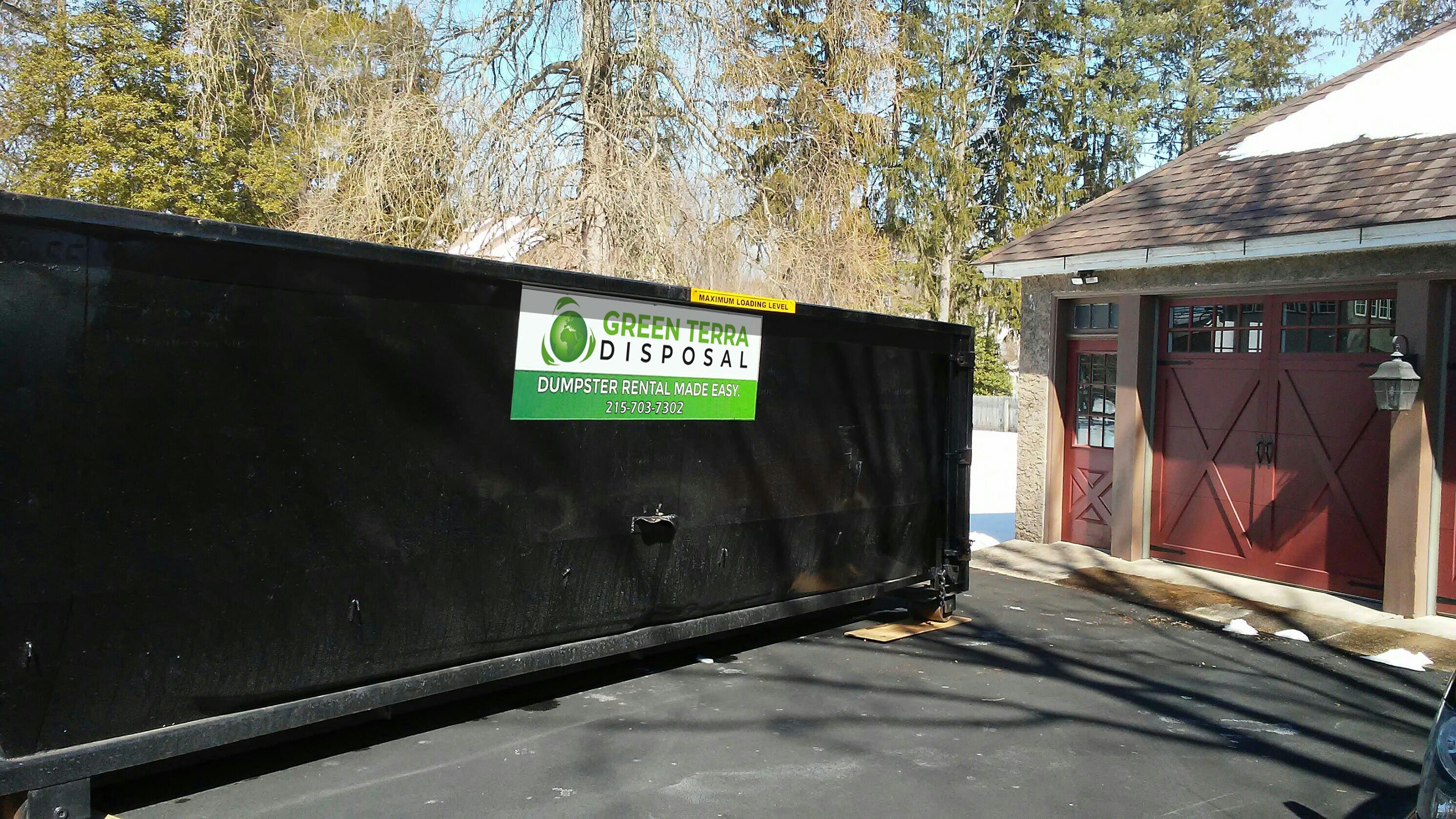 Dumpster Rental Service, Commercial Roll-Off Dumpsters